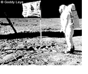 Goddy Leye - the voice on the moon - sized